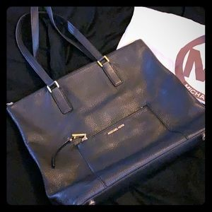 Michael Kors large soft leather tote